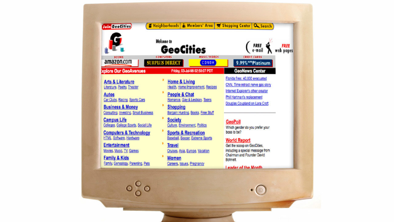 1995 — The invention of web hosting