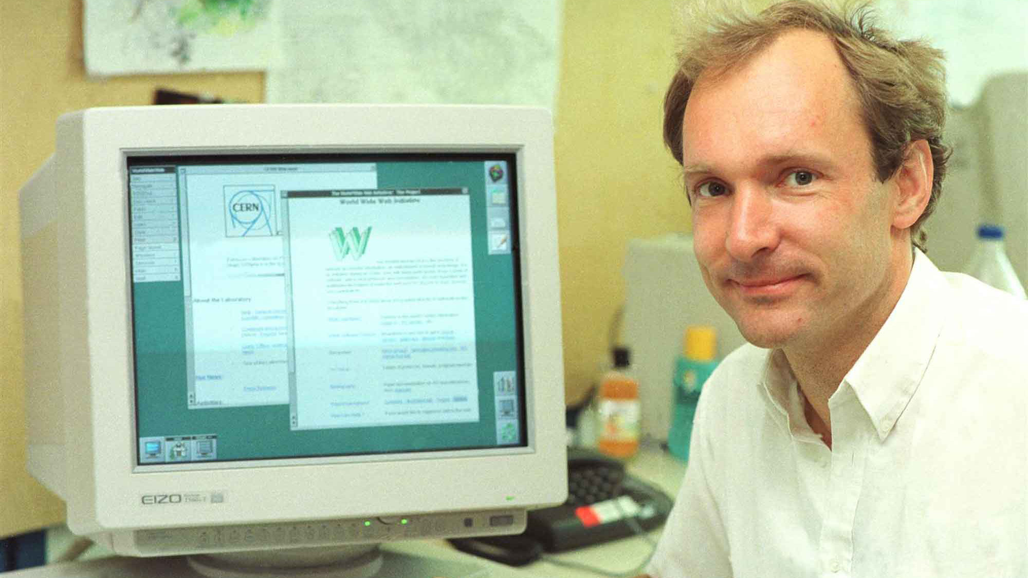 1989-1991 — Sir Tim Berners-Lee invented the World Wide Web