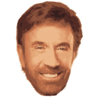 Chuck Norris face