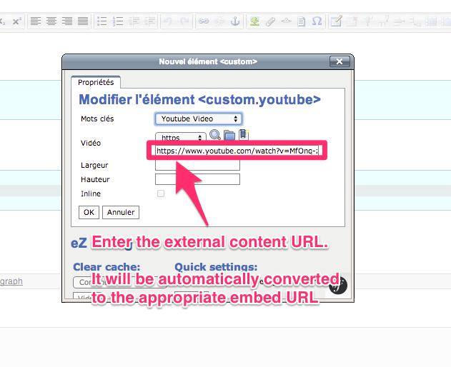 Provide the content's URL
