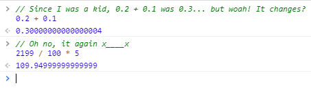 Error example