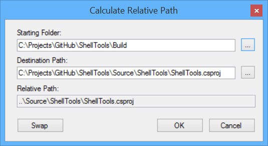 Calculate Relative Path