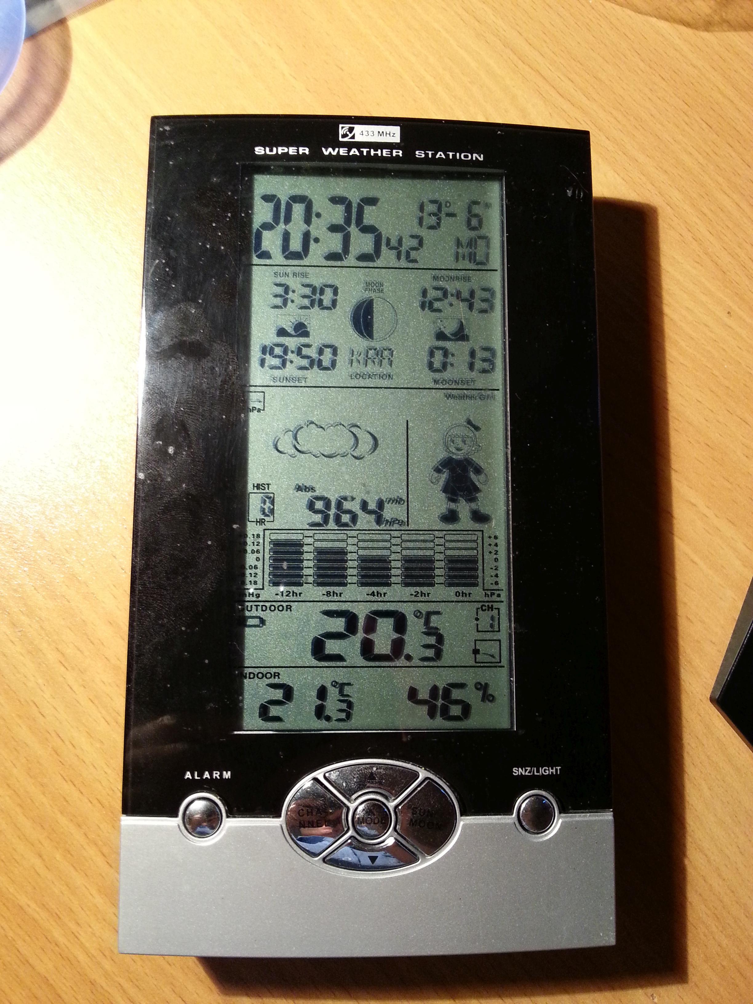 Barometer - STM32 by loruro