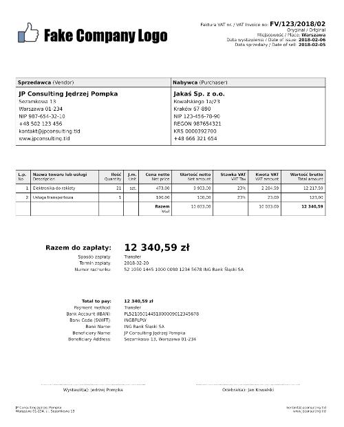 Generator Faktur Pdf W Php 4programmersnet