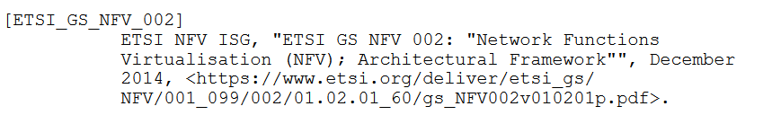 非RFC文档引用