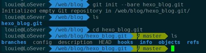 hexo_blog git仓库初始化
