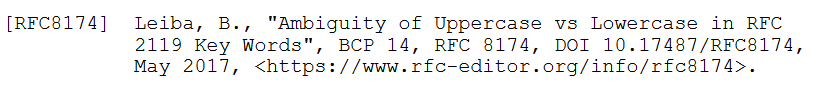 RFC 8174 引用效果图
