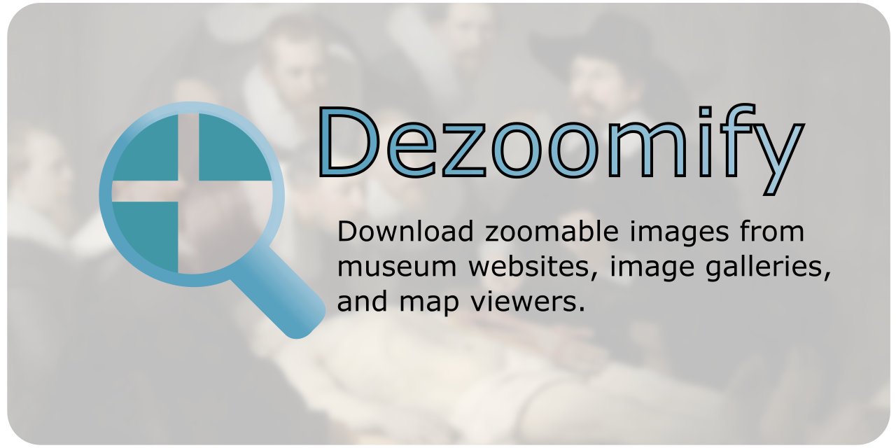 Dezoomify cover image