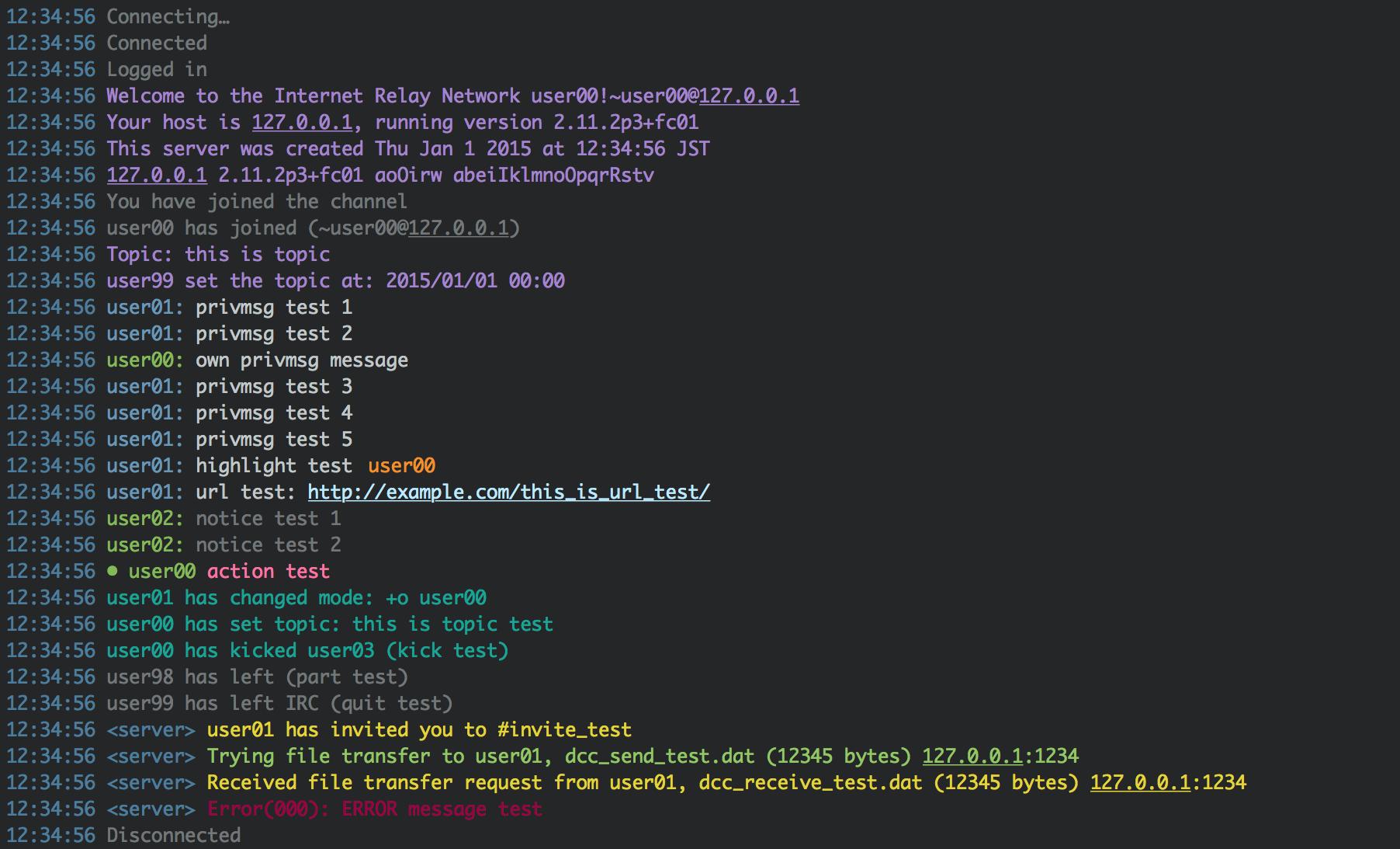 melanite Preview (LimeChat (OSX))