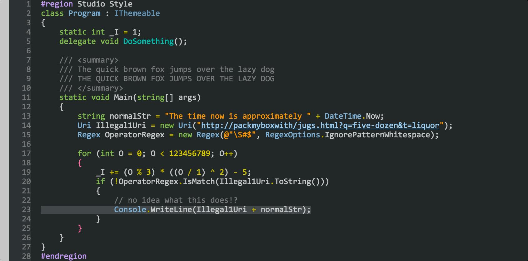 melanite Preview (Visual Studio)