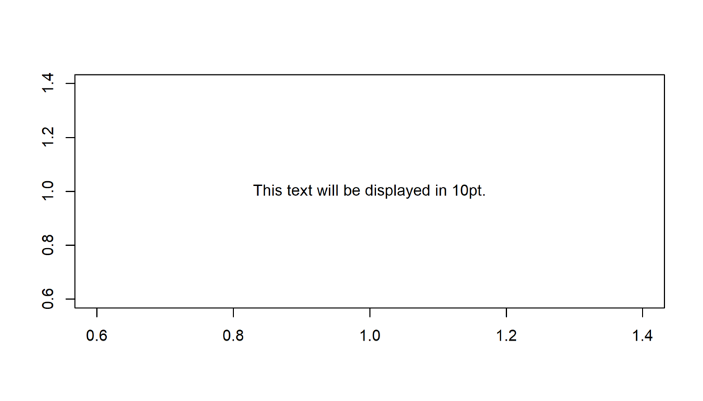 Figure 1: Text in 10pt.