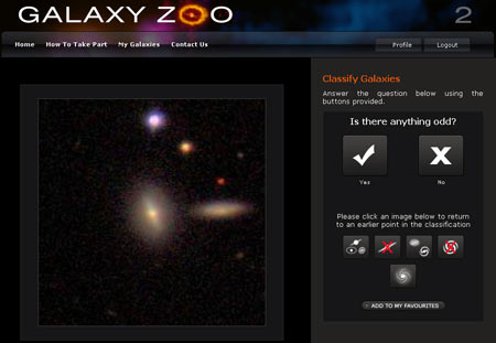 Galaxy Zoo Snapshot