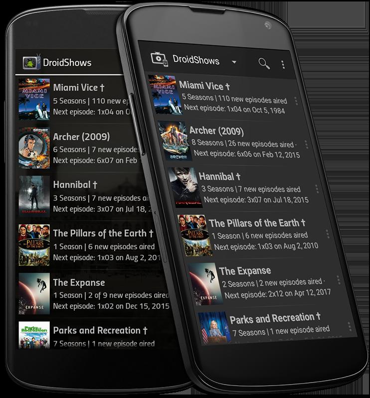DroidShows Screenshot