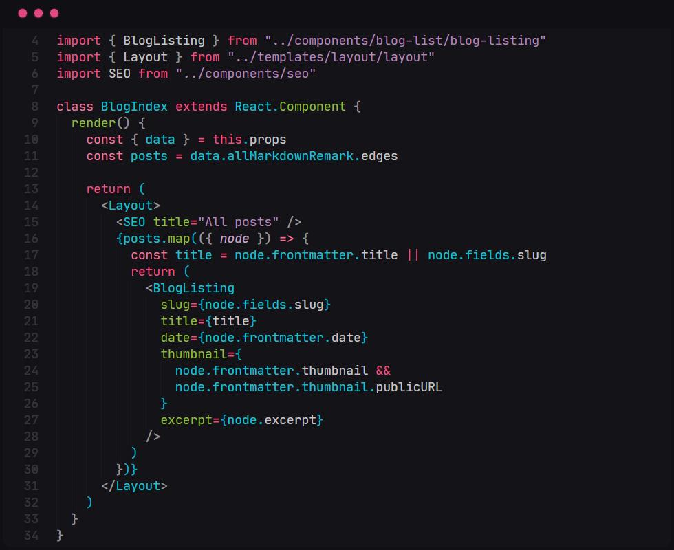 LubnaDev VS Code theme preview