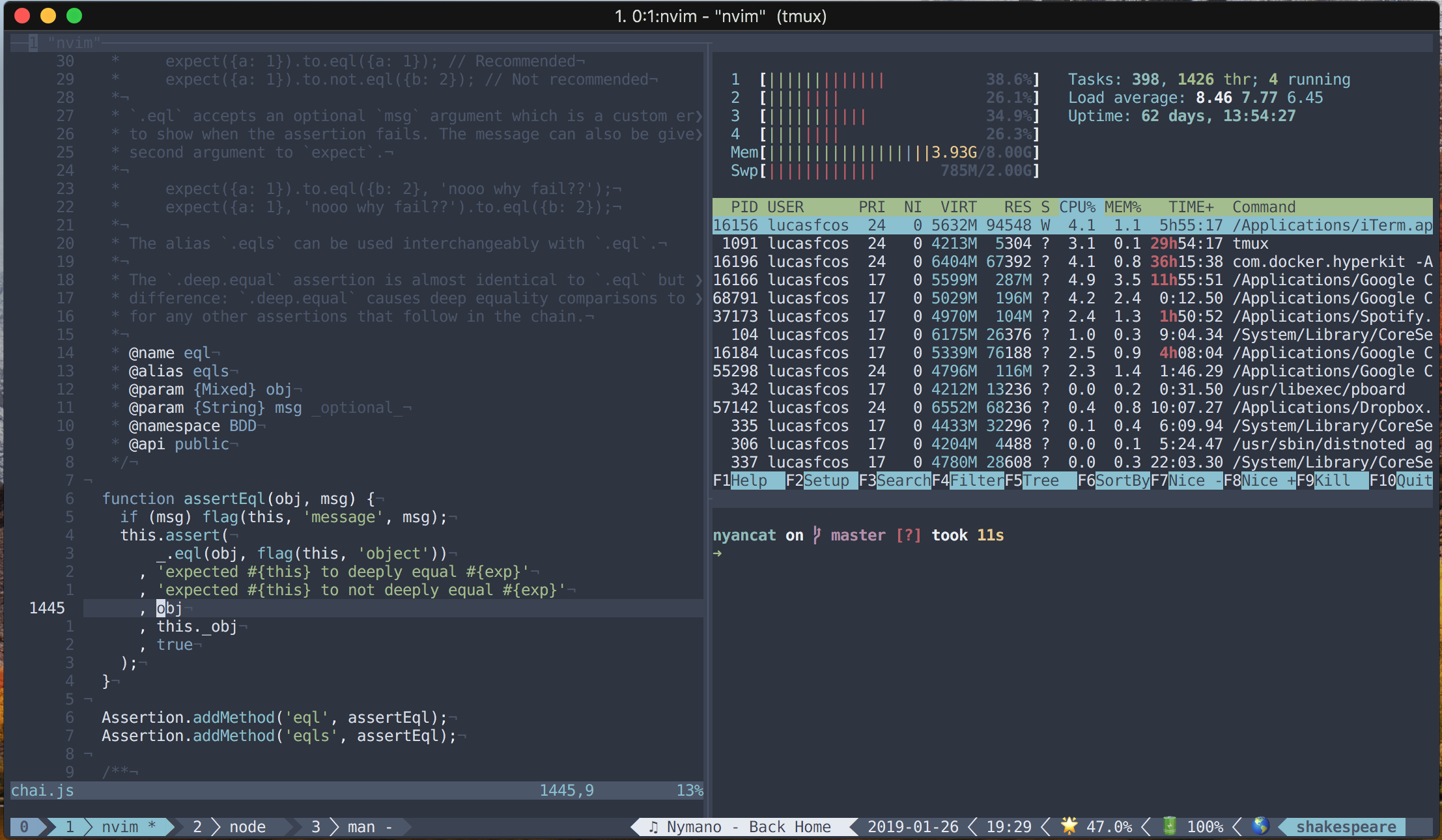 my terminal using the dotfiles in this repo