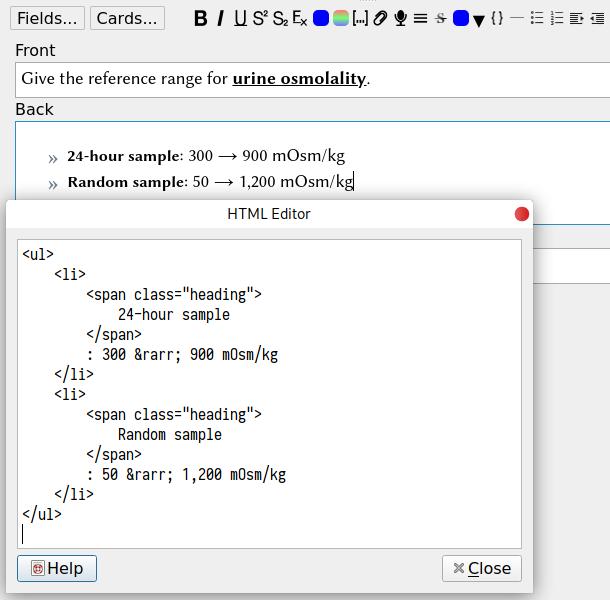 HTML Editor Tweaks v0 1 - AnkiWeb