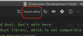 Click Visual Editor