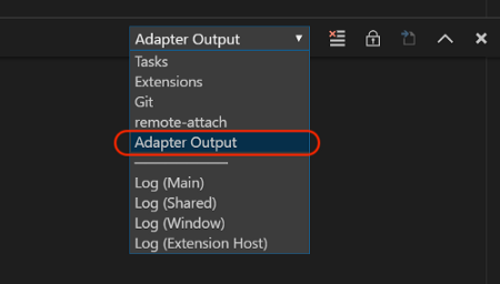Select Adapter Output