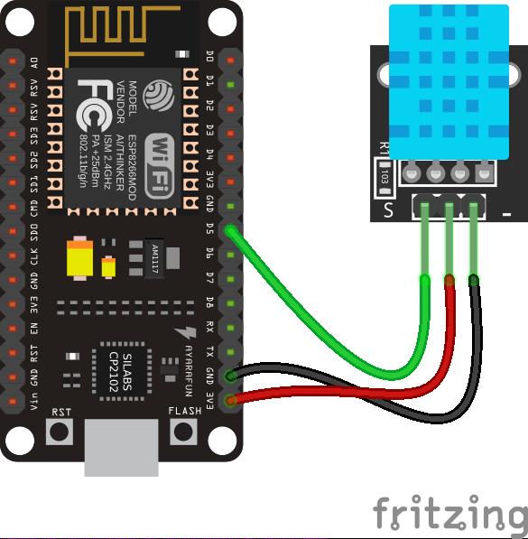 MicroPython: DHT11 · lvidarte/esp8266 Wiki · GitHub