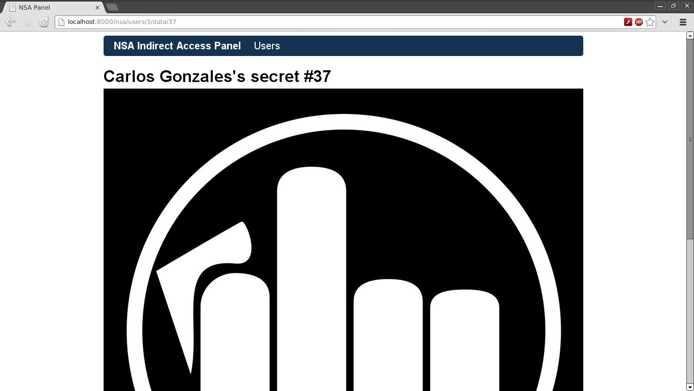 User's secret