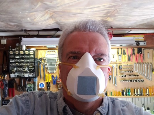 Me Wearing Mask
