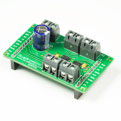 LXRobotics P7 Quadromotor BoosterPack