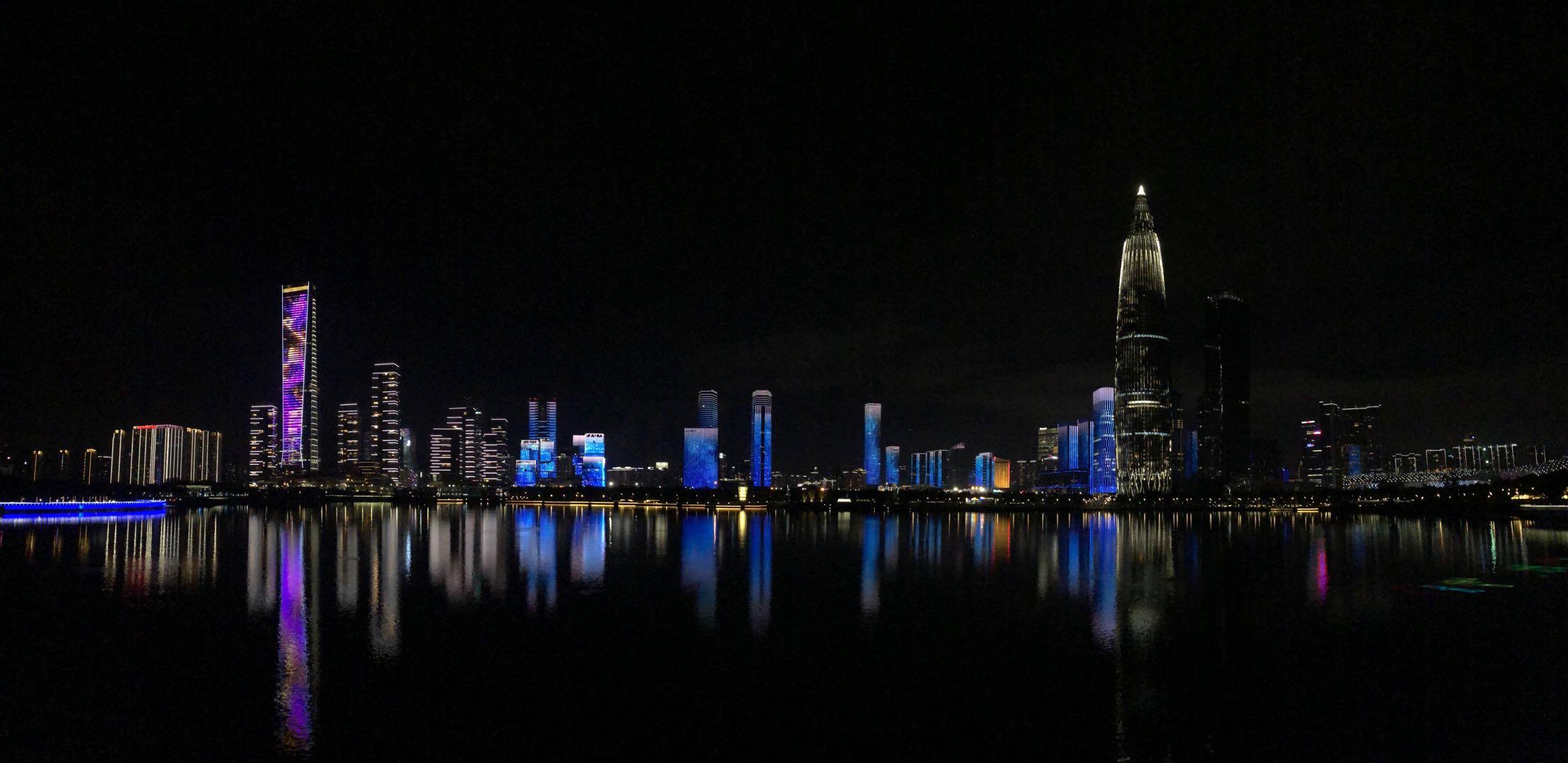 深圳湾夜景