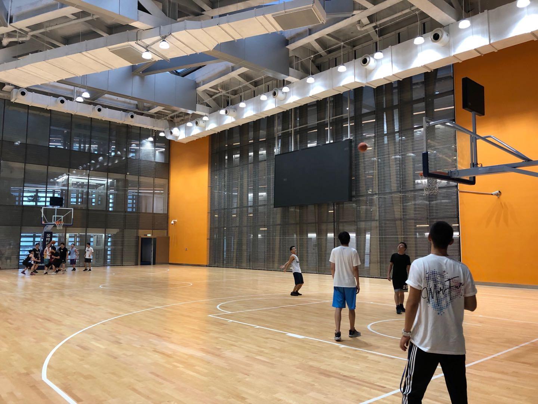 腾讯滨海大厦篮球馆