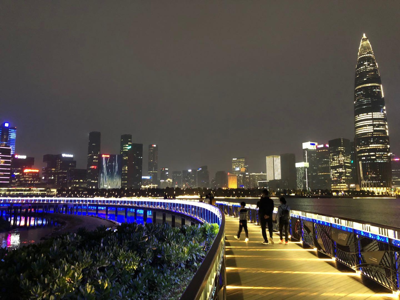 深圳湾夜景2