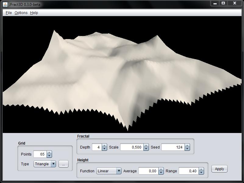 JFract3D application sample image
