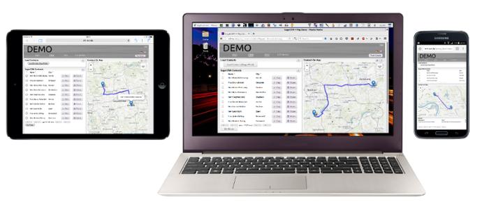 demo screen shot