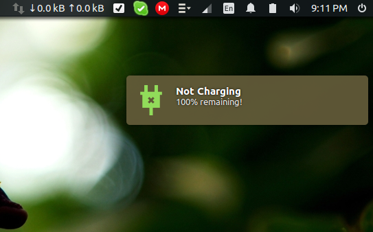 Not Charging State