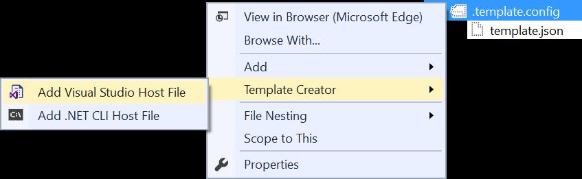 Add host files