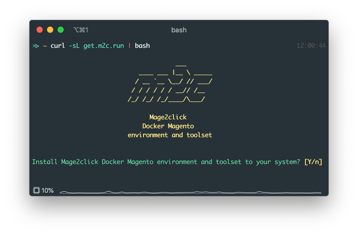 Mage2click Docker Magento environment and toolset