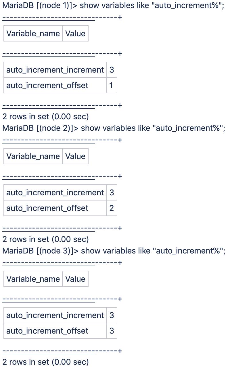 auto_increment