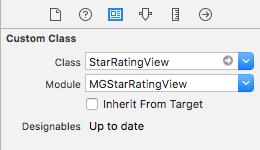 MGStarRatingView
