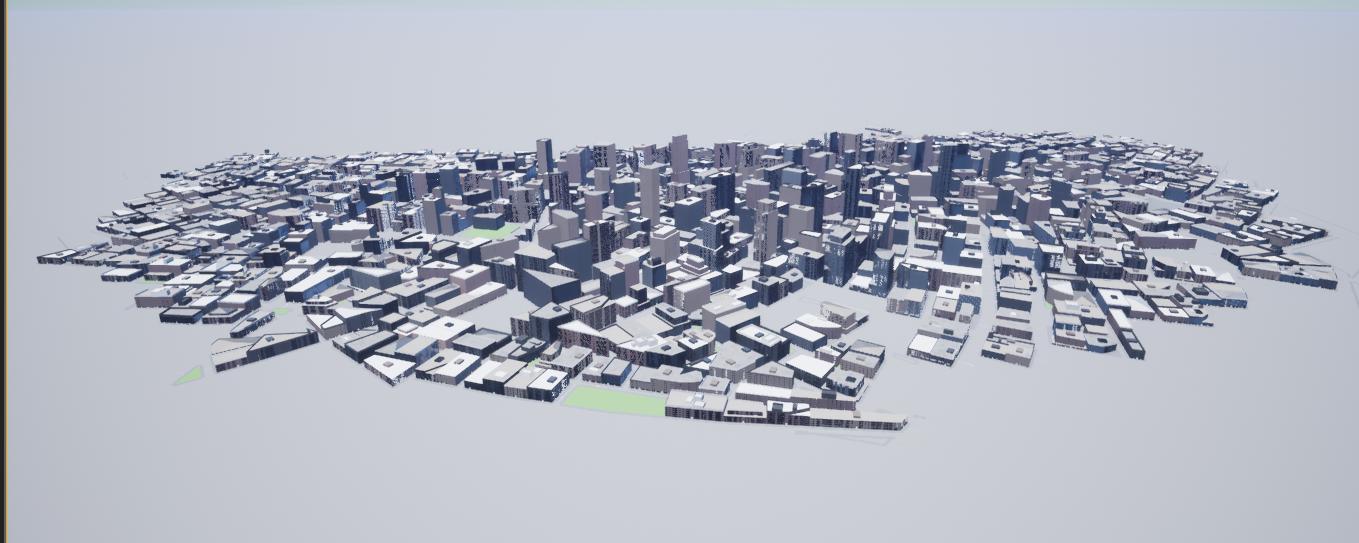 Large city