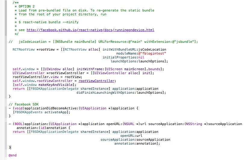 example-fbsdk-frameworks
