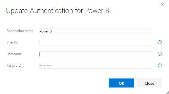 Power BI Service Connection