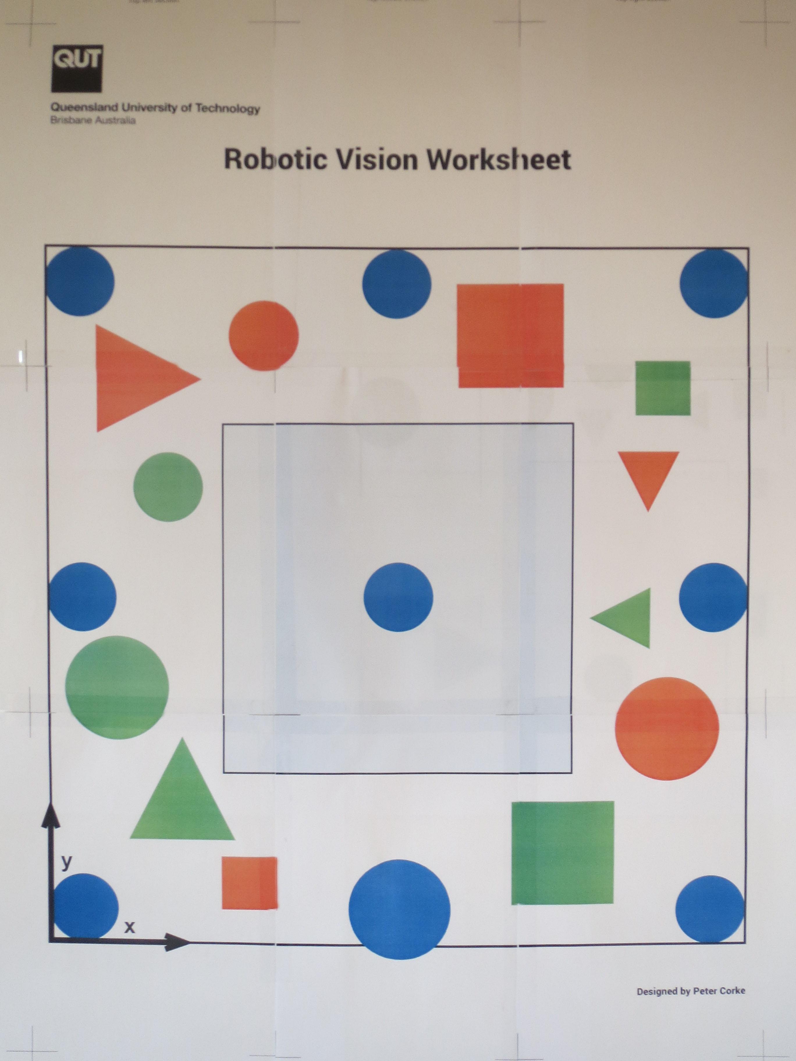 Robotic Vision Worksheet
