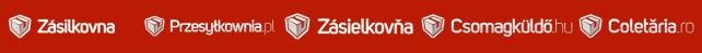 Zásilkovna / Zásielkovňa / Csomagküldő / Przesyłkownia / Coletăria