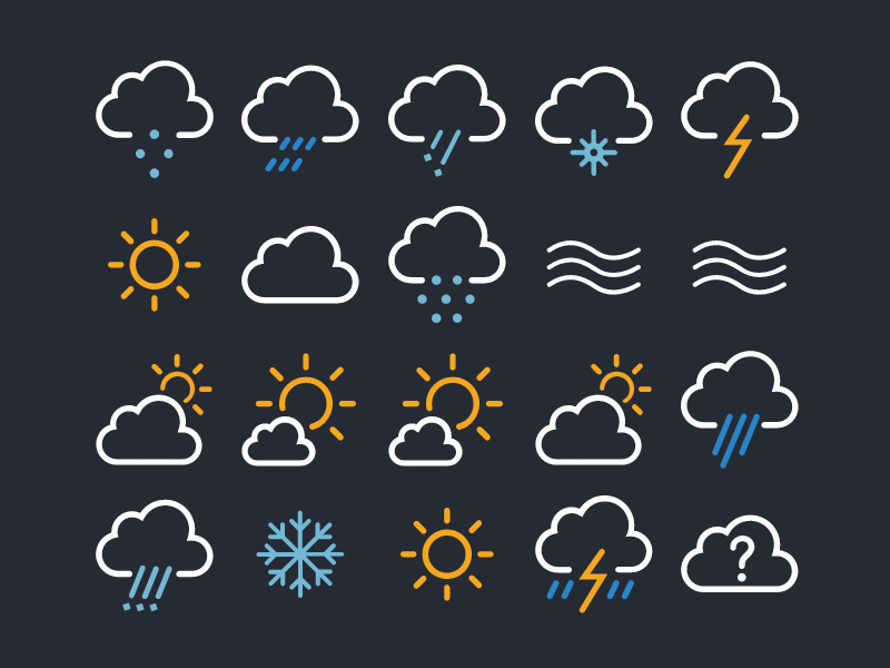 Weather Underground Icons Npm