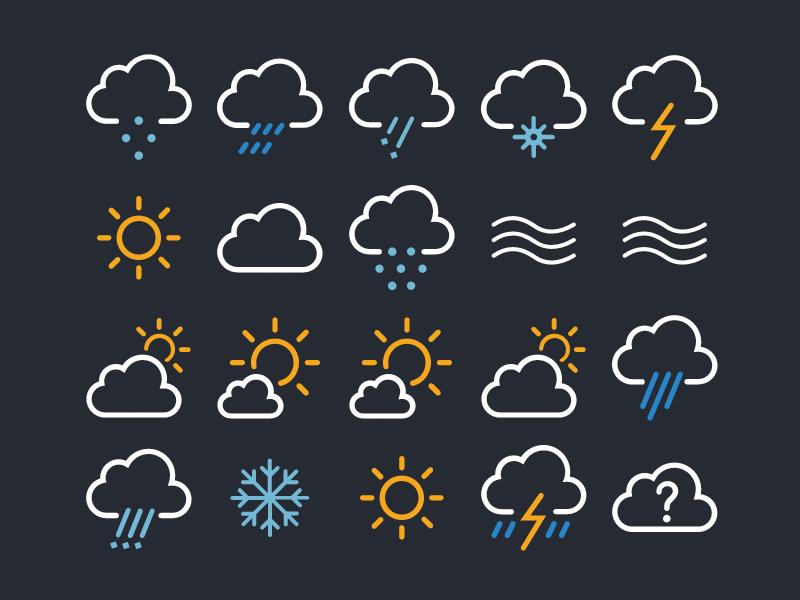 White Day Icons