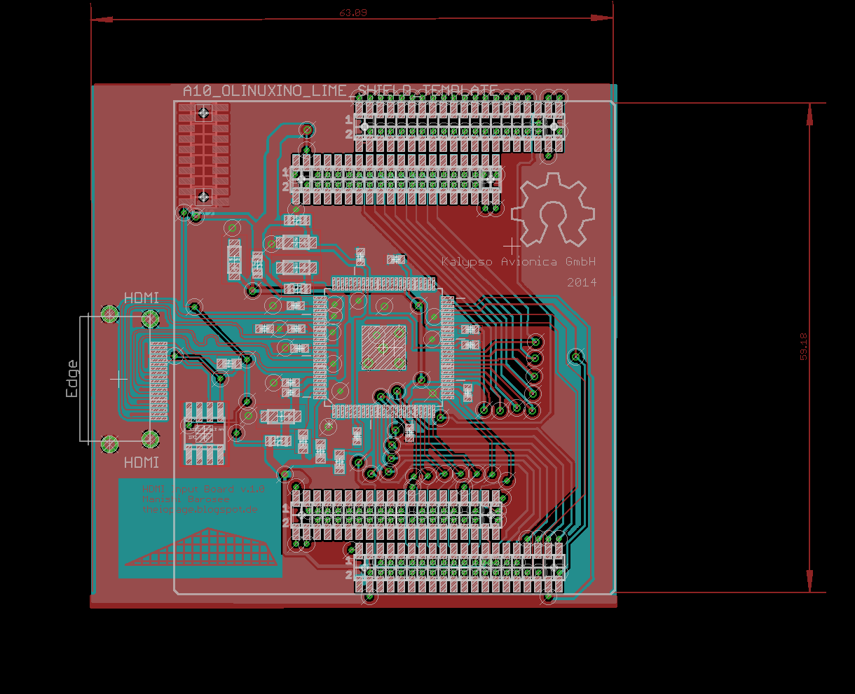 I O Blog Professional Double Layer Electronic Circuit Board Assembly For H264 What That Implies Is We Can Theoretically Feed A Full Hd Video Stream To The Ipu Of Soc Encode It And Livestream