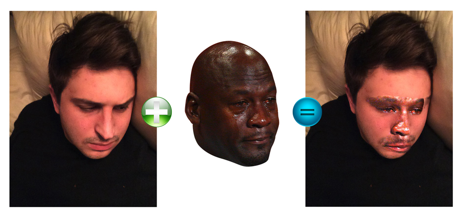 GitHub - mannynotfound/crying-jordan io: face swap as a