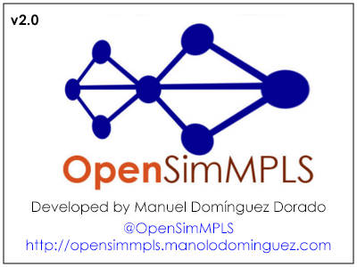 OpenSimMPLS logo