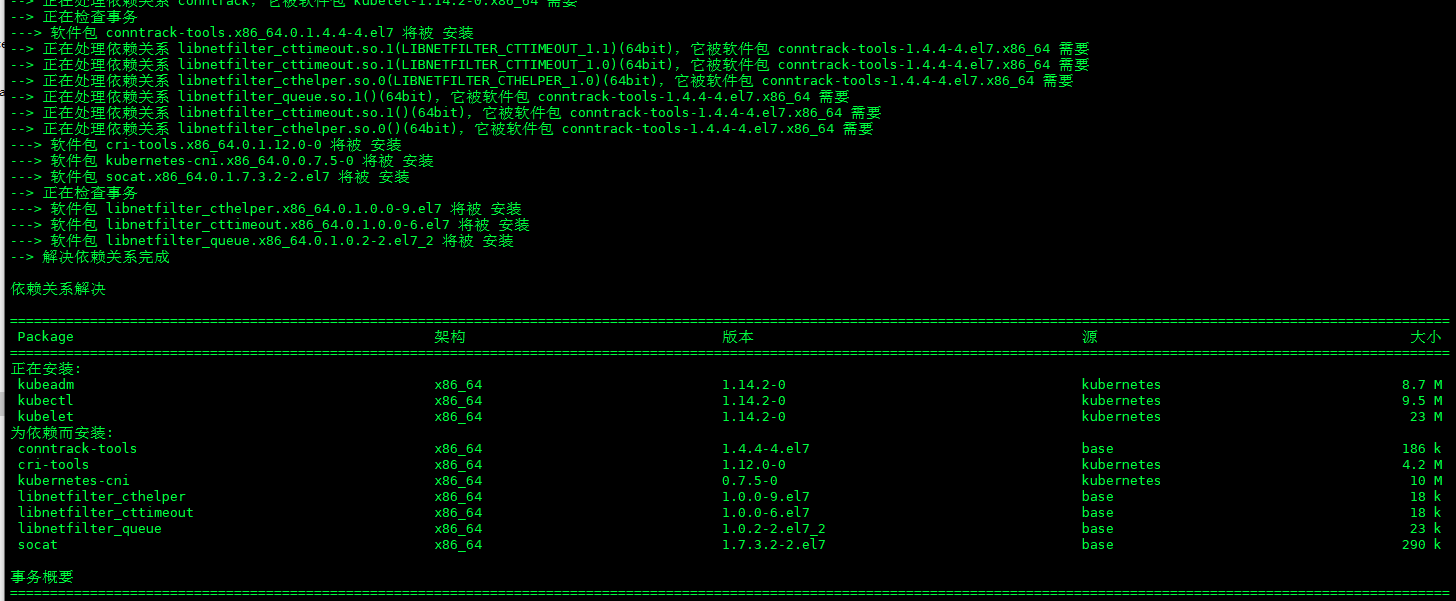 Kubernetes组件安装