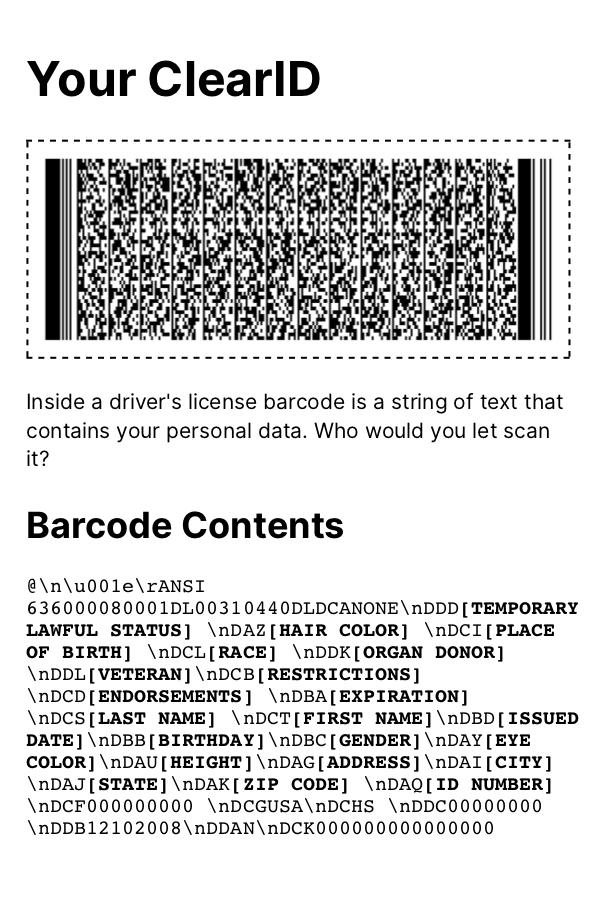 barcode-printout