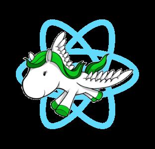 django-react-typescript logo