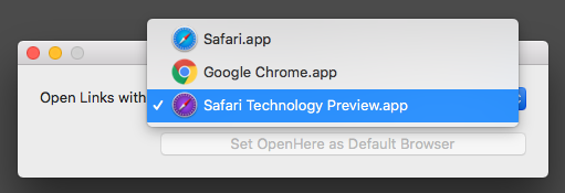 Select Browser